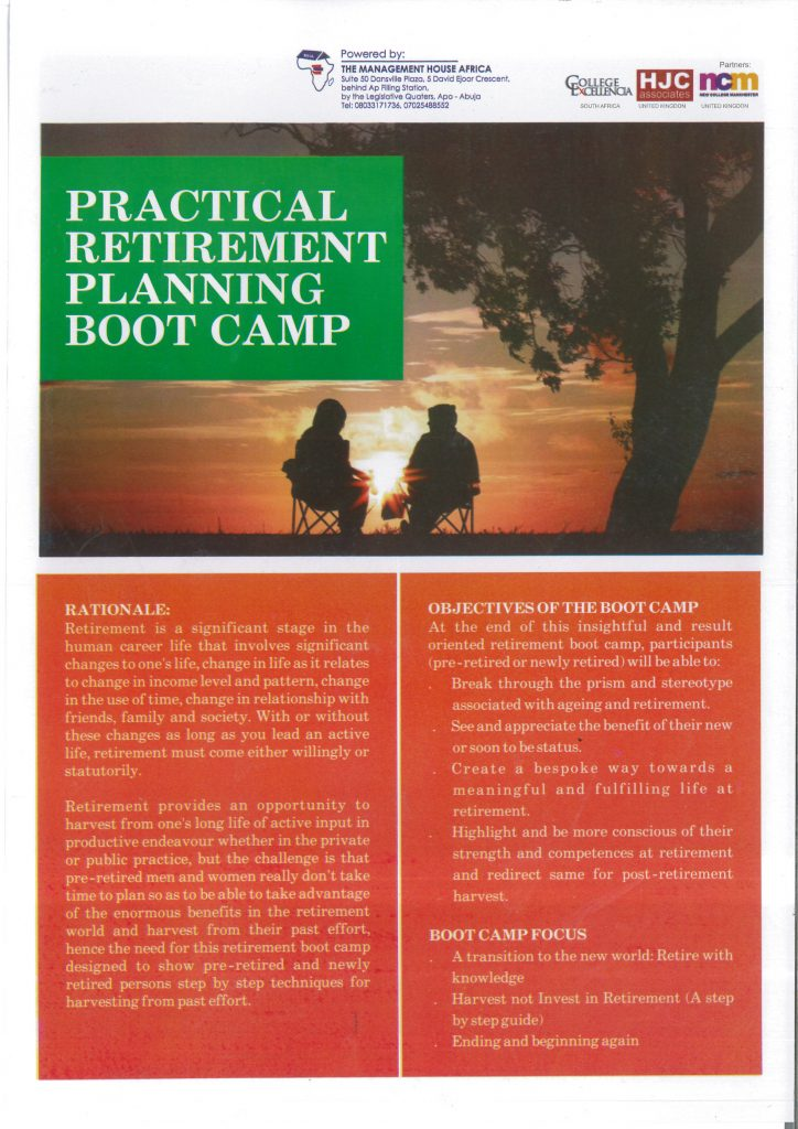 practical retirement planning bootcamp 1